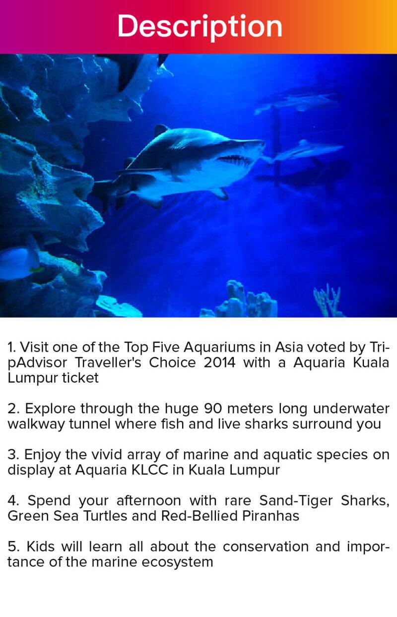 Travelog] Aquaria KLCC Ticket in Kuala Lumpur (QR code