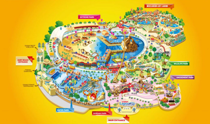 Travelog] Sunway Lagoon Theme Park Admission Ticket to All Parks